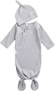 Bigbuyu Newborn Cotton Nightgown Long Sleeve Baby Sleeping Bags Shark Print Sleeper Gown