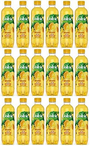 18 Flaschen Volvic Limotion Orange a 0,45 L ink. EINWEG Pfand Orangen limonade