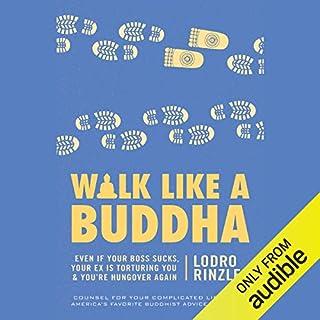 Walk like a Buddha audiobook cover art