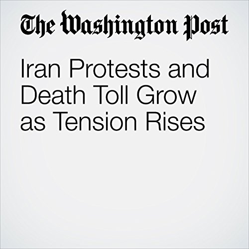 Iran Protests and Death Toll Grow as Tension Rises copertina