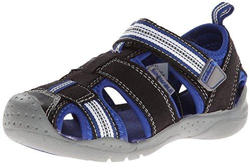 Pediped pediped Flex Sahara Sandal (Toddler/Little Kid),Black King/Blue,30 EU (12.5-13 M US Little Kid)