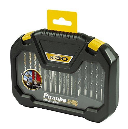 Piranha HI-TECH Bohrer-Set in Aufbewahrungsbox (30-teilig, 1 Stück) X88102