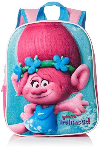 Trolls Rucksack 3D pink