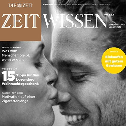 ZeitWissen Dezember 2014 / Januar 2015 Titelbild
