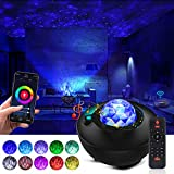 Galaxy Projector Star Projector Ocean Galaxy Light with Bluetooth Music Speaker Galaxy Night Light Work with Alexa Google Home Galaxy 360 Pro Galaxy Light Projector for Bedroom for Baby Kids Adults
