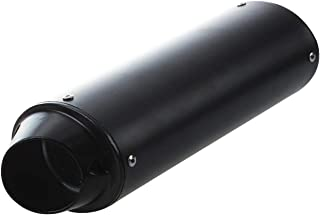 Sepikey Silenziatore Silenziatore 60mm Marmitta Tubo Marmitta Baffle Db Killer Silenziatore Marmitta Marmitta Universale