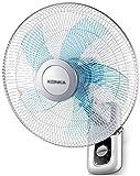 WANGCAI Montado en la Pared Ventiladores eléctricos, Ahorrar Espacio de Estar Cocina Ventiladores de enfriamiento Aula de fábrica Ventiladores de refrigeración Ángulo de inclinación Ajustable