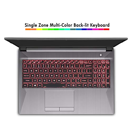 Sager NP7858PQ 15.6-Inch Thin Bezel Full HD 144Hz Gaming Laptop, Intel i7-10870H, RTX 3060 6GB, 16GB RAM, 500GB NVMe SSD, Windows 10