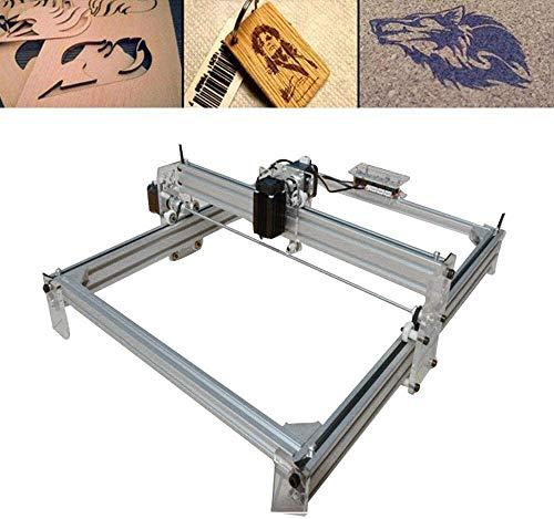Aohuada 500mW CNC L-aser Graviermaschine Desktop L-aser Engraver, Einstellbare L-aser Power Drucker Carving & Schneiden Holz Kunststoff Hörner Brieftasche Telefon Shell, Gravurfläche 40X50 CM