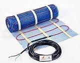 SEAL 70 Sqft 120V Electric Radiant Floor Heating Mat, for...