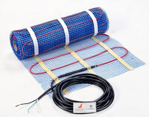 Seal 70 sqft 120v electric radiant floor heating mat, for ceramic,...