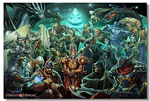 Puzzle 1000 piezas Decoración del pase mágico del poder del héroe del juego puzzle 1000 piezas paisajes Rompecabezas de juguete de descompresión intelectual educativo divertid50x75cm(20x30inch)