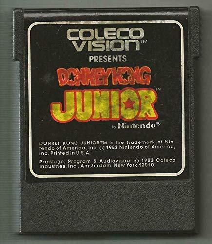 ORIGINAL Vintage 1983 ColecoVision Donkey Kong Junior Game Cartridge