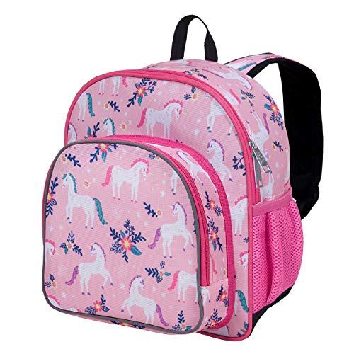 Wildkin 12 Inch Kids Backpack for Toddlers, Boys & Girls, 600 Denier Polyester Backpack for Kids, Ideal Size for School & Travel Backpacks, Mom's Choice Award Winner, BPA-free (Magical Unicorns)