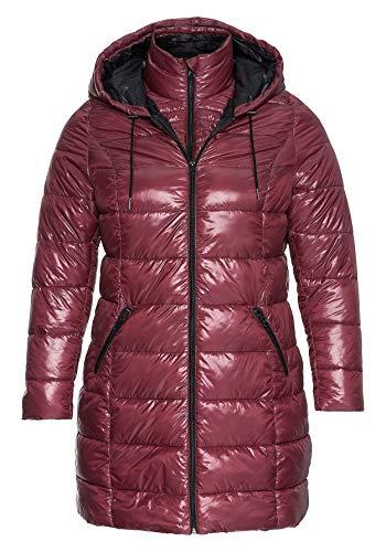 Sheego - Damen Steppjacke Jacket Winter warm Cozy lila pink Violet Jacke NEU (46)