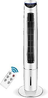 Kücheks Mini Ventilador de Aire Acondicionado portátil, Ventilador de enfriamiento de Agua móvil Aire Acondicionado enfriadores evaporativos con 4 Ruedas universales para Dormitorio Office-Green