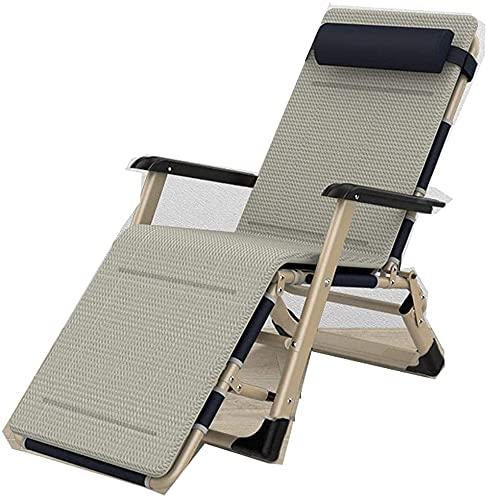 Outdoor liefern null gravity stuhl sonnenlieger recliner, recliner stuhl, outdoor faltende garten sonnenliege sonnenstuhl recliner gartenmöbel faltungsstuhl mit kissen für outdoor office reise-1 schön