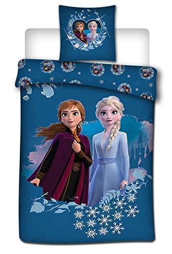 AYMAX S.P.R.L. Frozen 2 - Juego Funda edredón Funda