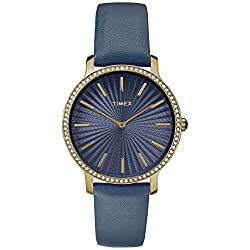 Navy/Gold-Tone Metropolitan Starlight 40mm Watch