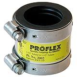 Fernco 3002-150 1-1/2-Inch Proflex Steel PVC Flexible Coupling