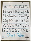 School Smart Chart Tablet, 24 x 32 Inches, 1-1/2 Inch Ruling, 1/2 Inch Skip Line, 25 Sheets, Cover may vary