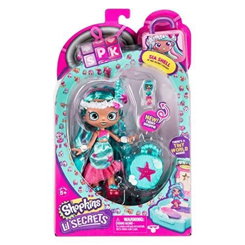Shopkins HPKD4100Lil 'Segreti Shoppies Dolls–Sia Conchiglie