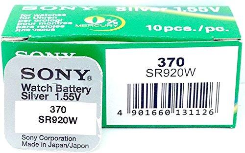 Sony SR920WN-PB - Pilas (óxido de plata, 1.55 V, 40 mAh)