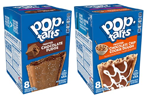 Pop Tarts Mix Pack (Frosted Chocolate Chip Cookie Deeg en Frosted Chocolate Fudge)