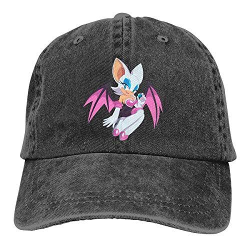 Ewtretr So-nic The Hedgehog Rouge The Bat Cowboy Hat Baseball Casquette bedruckt Trucker Cap...