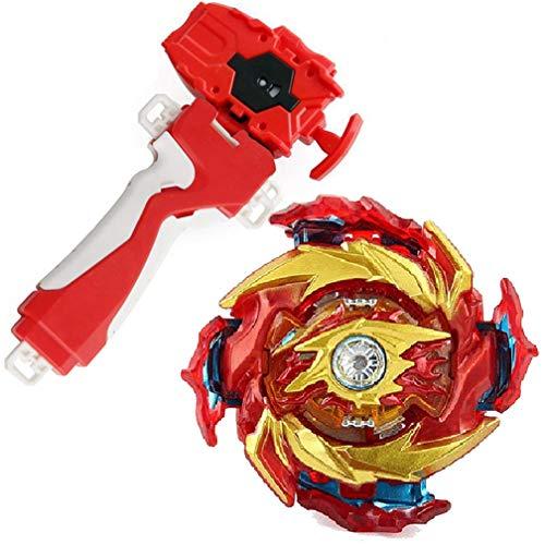 Dwin Bey Battle Evolution Blade Turbo Red Lr String Launcher Grip God Bay Super King Booster...
