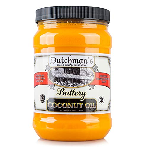 Product Image 6: Dutchman's Popcorn Coconut Oil Butter Flavored Oil, 30oz Jar – Colored with Natural Beta Carotene, Makes Theater Style Popcorn, Top Rated, Vegan, Healthy, Zero Trans Fat