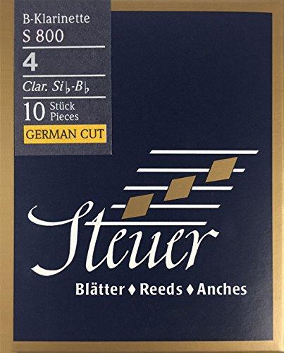 Steuer - Canas Clarinete en Sib Blue Line S800, corte alemá