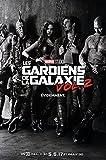 Affiche Cinéma Préventive Grand Format - Les Gardiens De La Galaxie 2 (format 120 x 160 cm pliée)