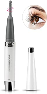 TOUCHBeauty Heated Eyelash Curler Rechargeable with advanced ±360 Rotary Heating Curling Comb Long Lasting Naturally Eyelashes Pen Sized Painless Eyelash Beauty Tool