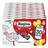 Regina di Cuori Carta Cucina | Confezione da 30 Rotoli | 50...