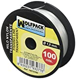 Wolfpack 16010360 - Nylon-Rolle, 100 m x 1 mm, transparent.