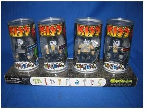 Kiss Minimates Set of 4 Psycho Toyz for Crazy Kids Art Asylum by Art Asylum