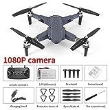 Drone, Mini Drone,E58 WiFi FPV avec 720P / 1080P HD Caméras Pliables FPV WiFi RC Quadcopter 2.4Ghz Télécommande Drone avec Mode sans Tête, Cadeau Amusant pour Les Enfants