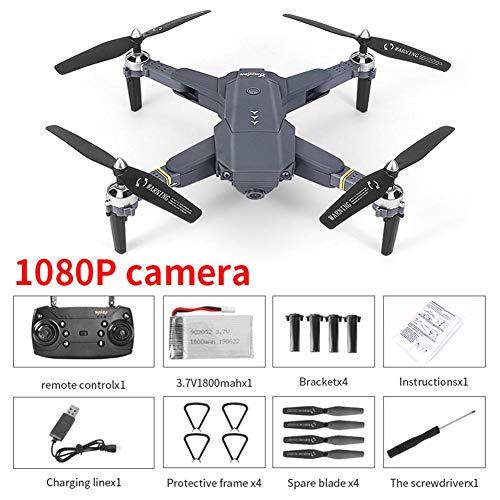 Dynamicoz WiFi FPV Drone avec caméra 720P / 1080P HD Live Video, Bras Pliable quadrirotor, Anti-interférences, Fonction Tactile Retour, Mode sans tête Stylish