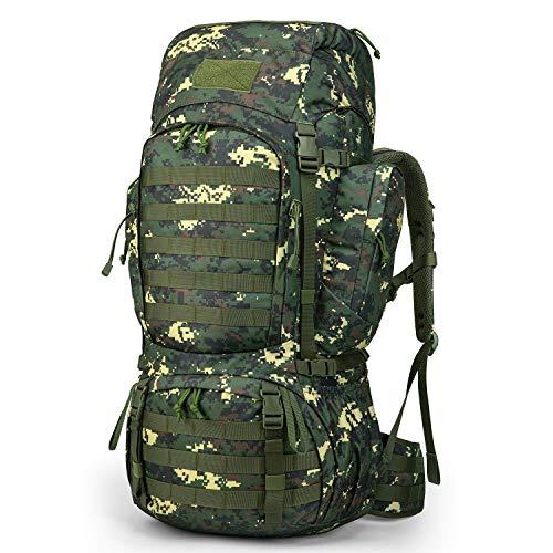 Mardingtop 50L/60L Zaino Tattico Militare Zaino da Trekking Grande capacità Zaini di Assalto per Campeggio Viaggio Addestramento Scout con Copertura della Pioggia