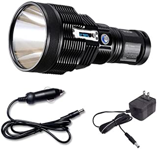 Nitecore TM36 Lite LED Flashlight - 1800 Lumens - Luminus SBT-70 LED w/Car Charger & Optional Accessories