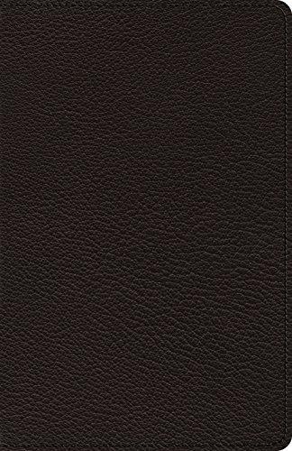 ESV Heirloom Thinline Bible (Goatskin, Black)