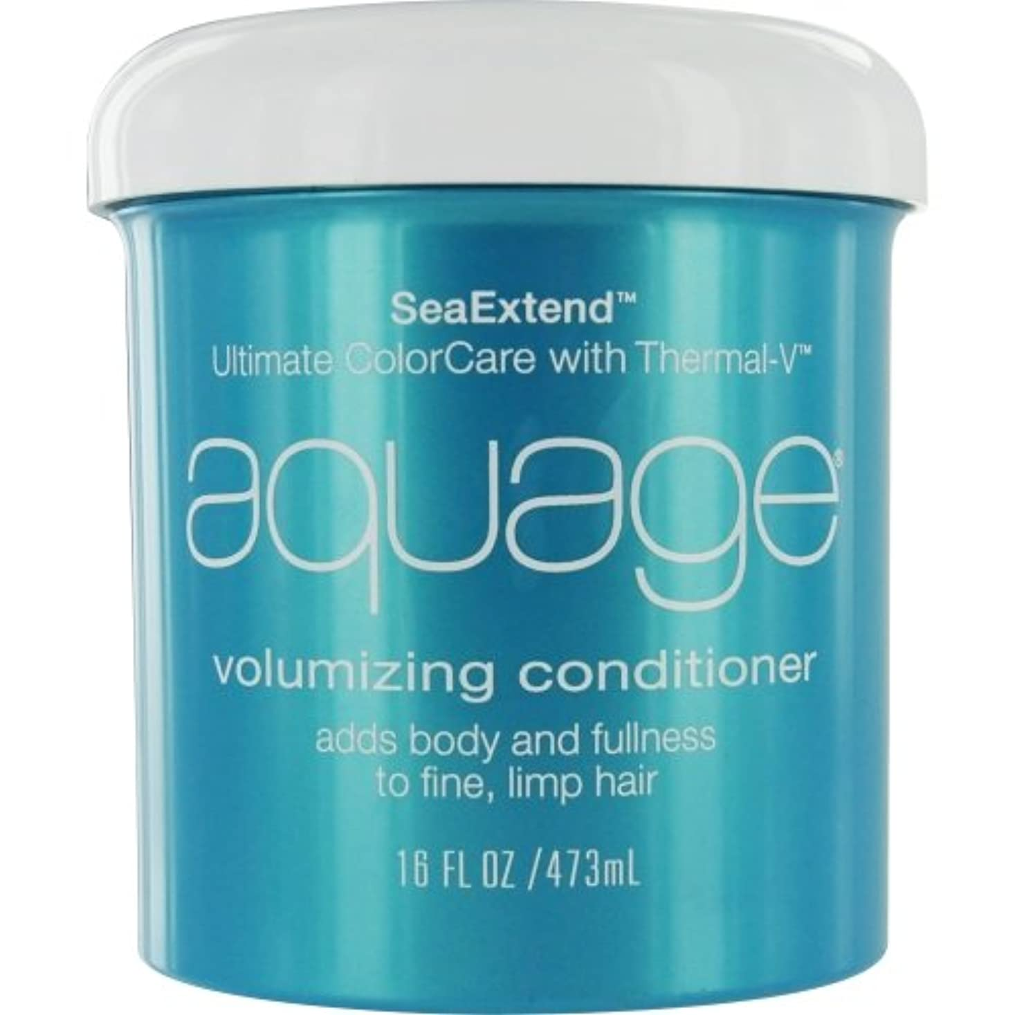 振り向くアクロバット小道具by Aquage SEA EXTEND VOLUMIZING CONDITIONER FOR FINE HAIR 16 OZ by AQUAGE