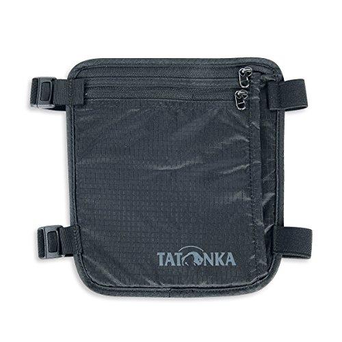 Tatonka Skin Secret Pocket - Sicherheits-Geldbörse zum Tragen am Bein - Bietet Platz für Reisepässe, Kreditkarten, Bargeld, etc. - Mit weicher und hautfreundlicher Rückseite - 19 x 19 cm