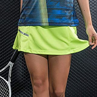 BEESCLOVER New 2 in 1 Pleated Tennis Skirt Women Gym Yoga Running Short Skirts Badminton Skorts Table Tennis Sport Running Golf Skirts