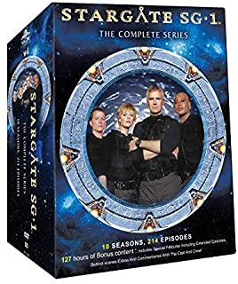 Stargate SG-1 – The Complete Series (Super Clean Picture with 127 hrs of bonus Content)