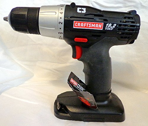 Craftsman C3 19.2 Volt 3/8 Inch Drill/Driver (Bare Tool, No Battery or Charger Included)