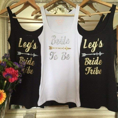 Personalized Hen Do Party Outfit. Party Decoration. Iron On Transfer. Hen Do Party. T-Shirts. Gold Or Silver Glitter. Stag Do Transfer.
