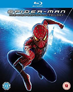 Spider-Man Trilogy [Blu-ray] [2007] [Region Free] (B000TYV3C6) | Amazon price tracker / tracking, Amazon price history charts, Amazon price watches, Amazon price drop alerts