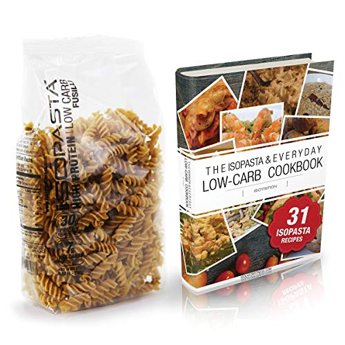 High Protein Pasta Fusilli - Isolator Fitness ISOPASTA: High Protein, Low Carb, Keto-Friendly Pasta 250g Single